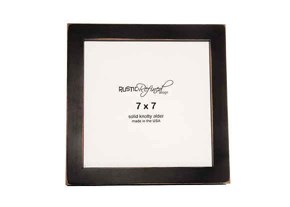 "7x7 1"" Gallery Picture Frame - Black"