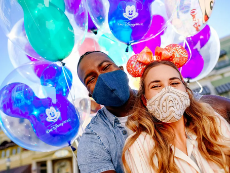 BREAKING NEWS! Masks Can Now Be Taken Off for Pictures at WDW!
