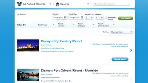 Disney Resort One-Night Stays Unavailable!!
