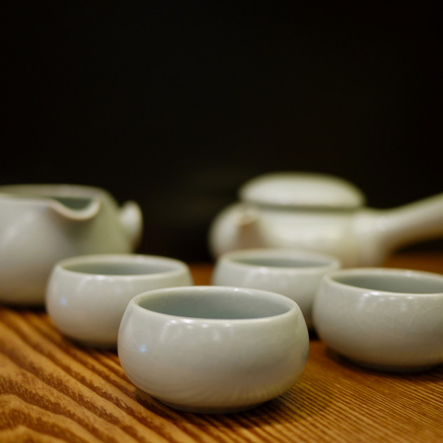 Tea Pot Set 4
