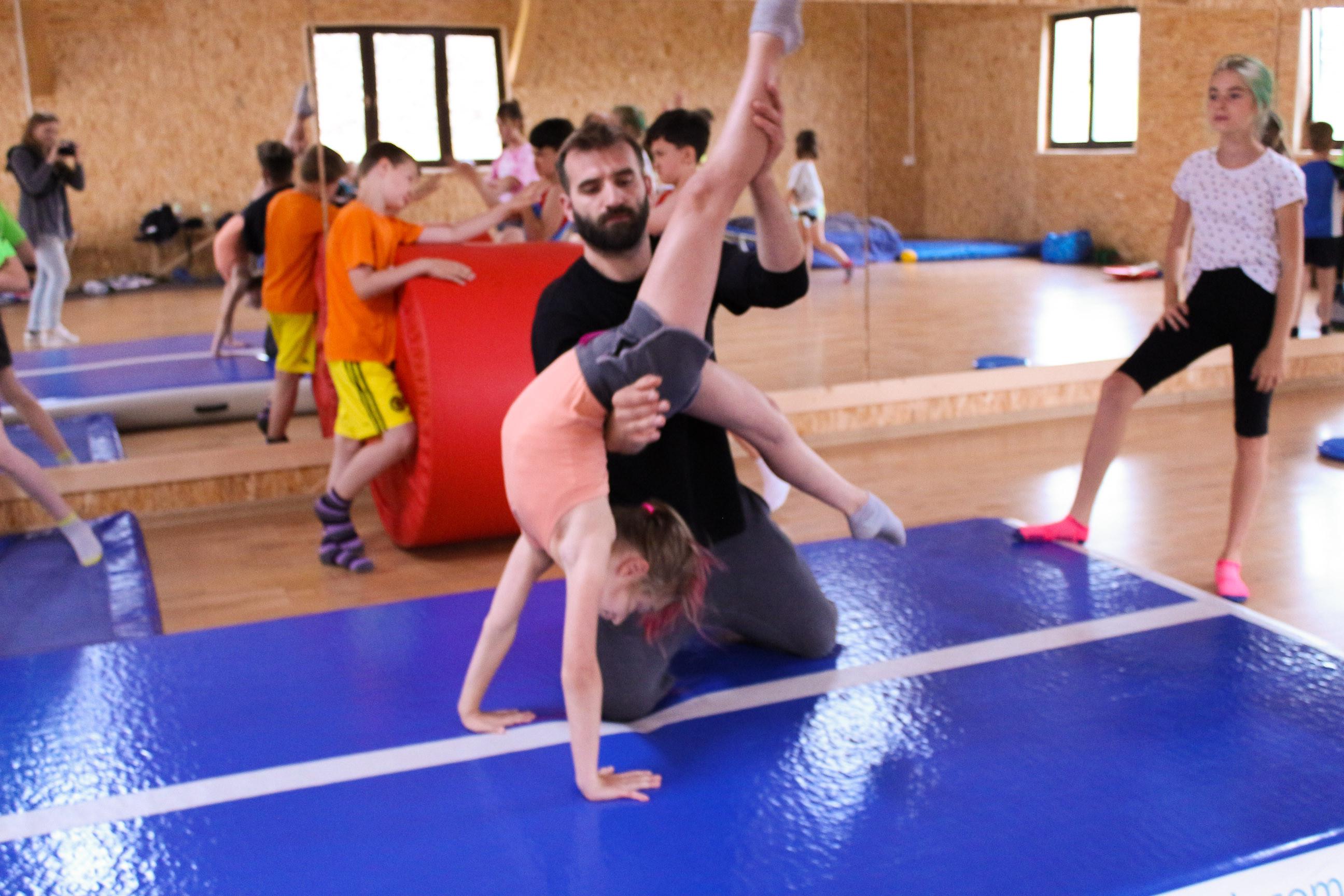 Zajęcia akrobatyczne - WTORKI