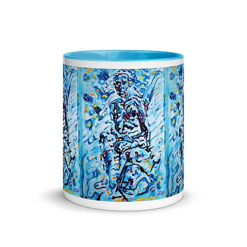 Blue Man Mug