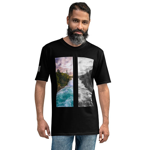 Rush Split T-Shirt- Justin Lake Collection