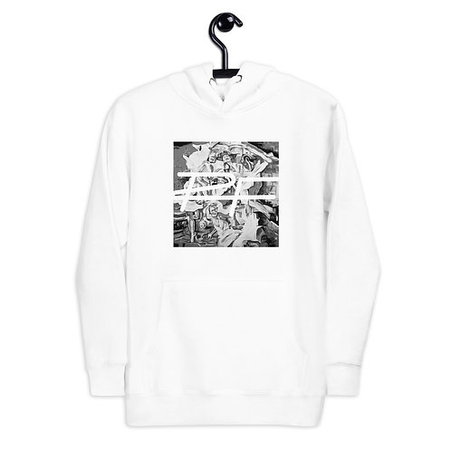 Black and White Dancers hoodie