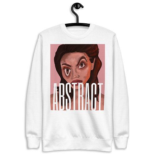 Warped Sweatshirt- Carolyn Arosell Collection