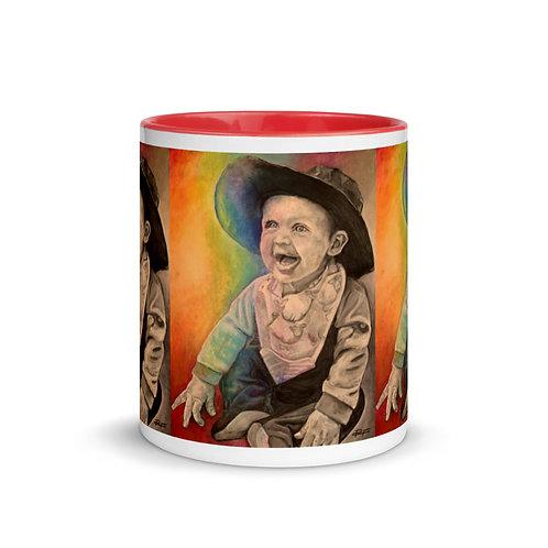 White Commission Mug