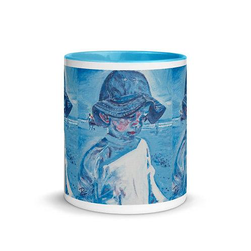 Boy in Hat Mug