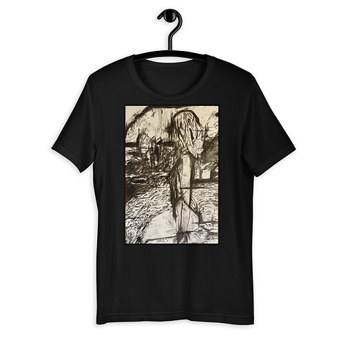 Girl on Beach T-Shirt