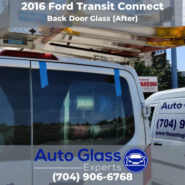 2016 Ford Transit Connect After