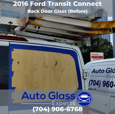2016 Ford Transit Connect Before