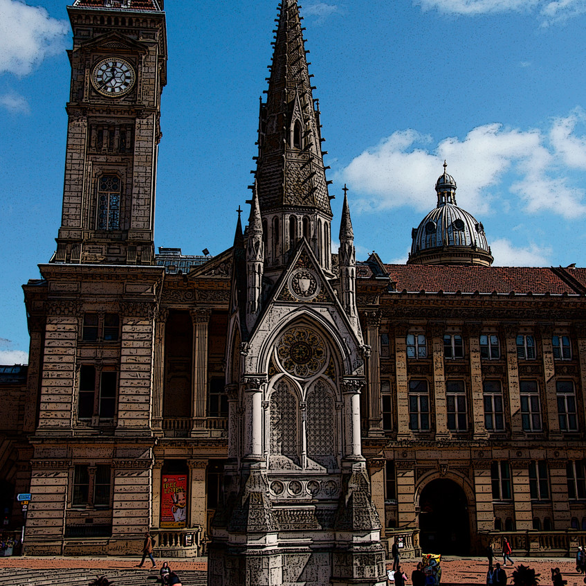 Big Brum and the Council House