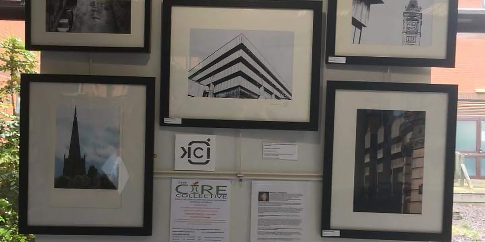 Core Collectives Exhibition at Solihull Hospital