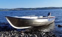 Båt på Mjøsa red