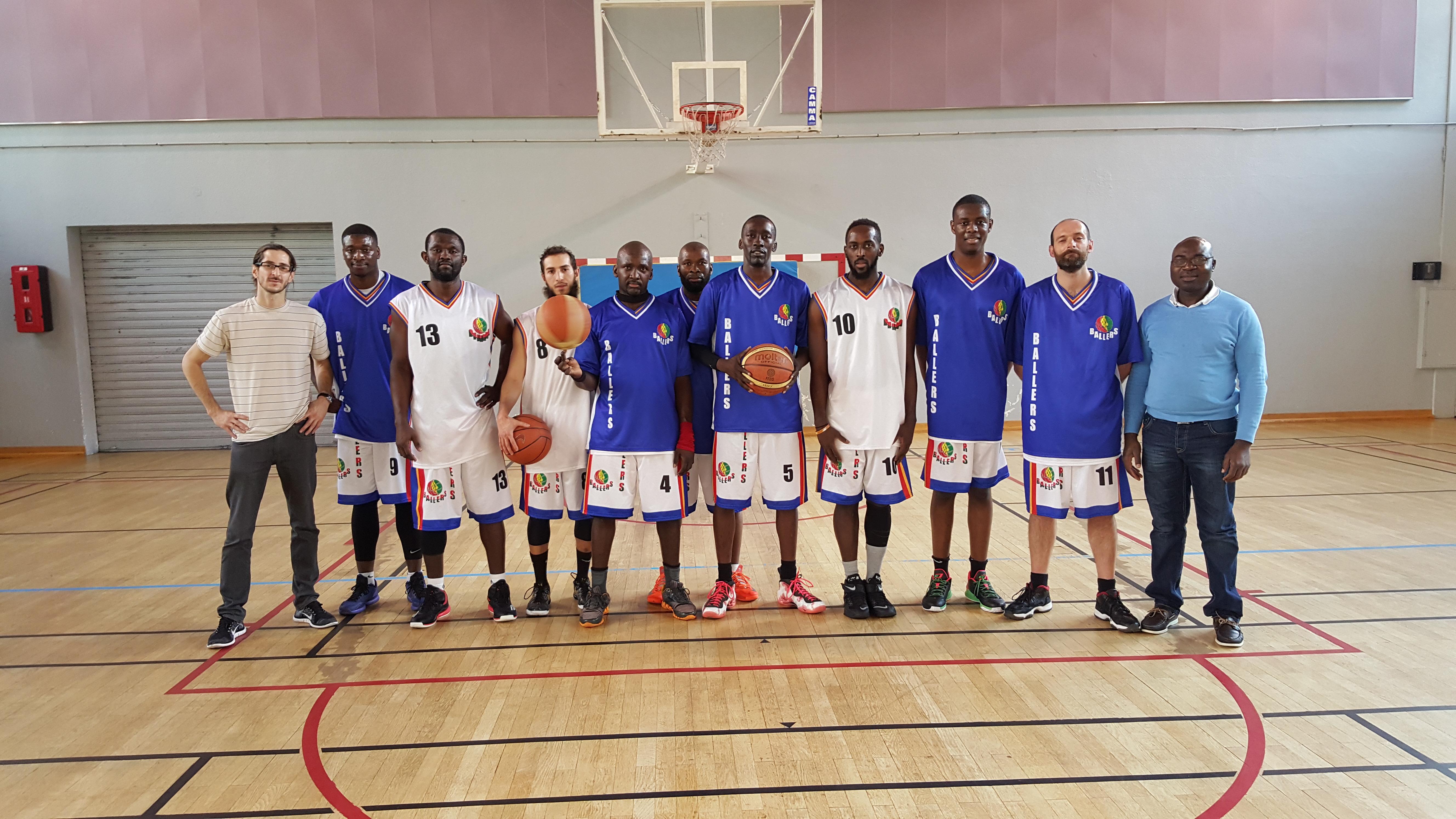 L'équipe Seniors Région