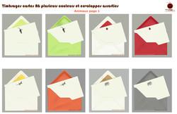 Timbrage + couleurs - Animaux, Objets et Voeux