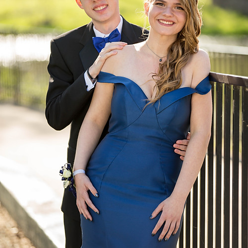Eldon and Allie: Lapel H.S. Prom 2017