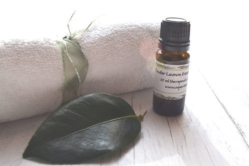 Cedar Lemon Essential Oil Blend