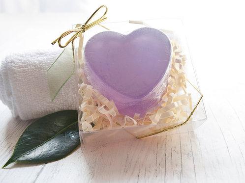 Purple Heart Novelty Soap