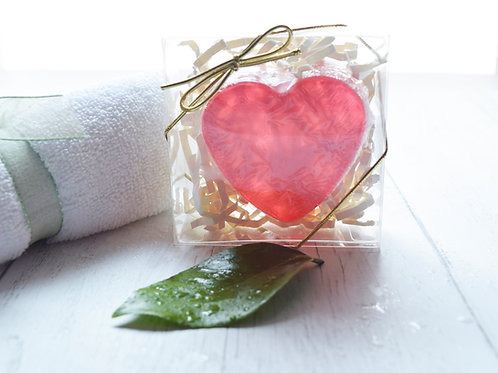 Red Heart novelty soap