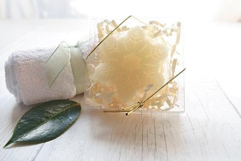 Snowflake Novelty Soap