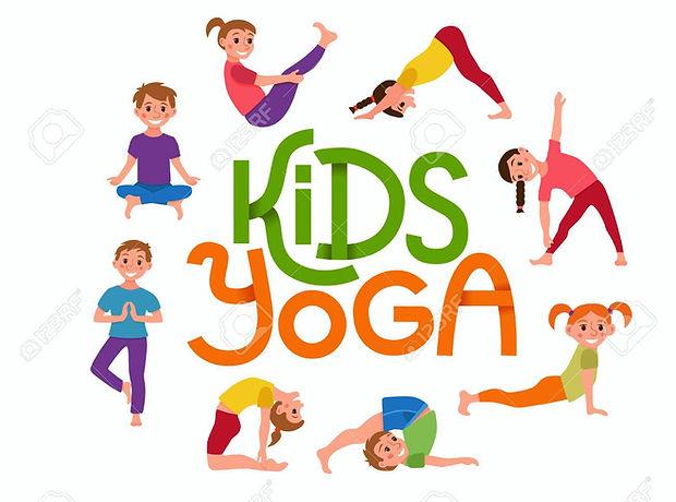 70793790-yoga-kids-poses-set-cute-cartoo