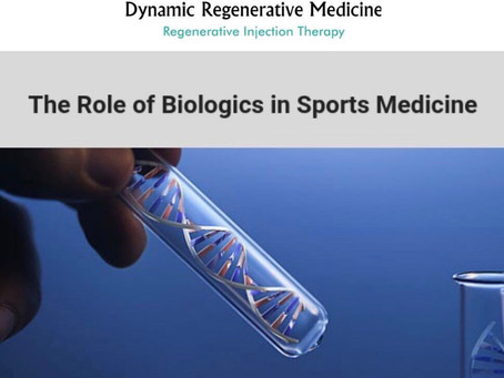 Sports Medicine Update: Advances In PRP and Stem Cells with Injury Management