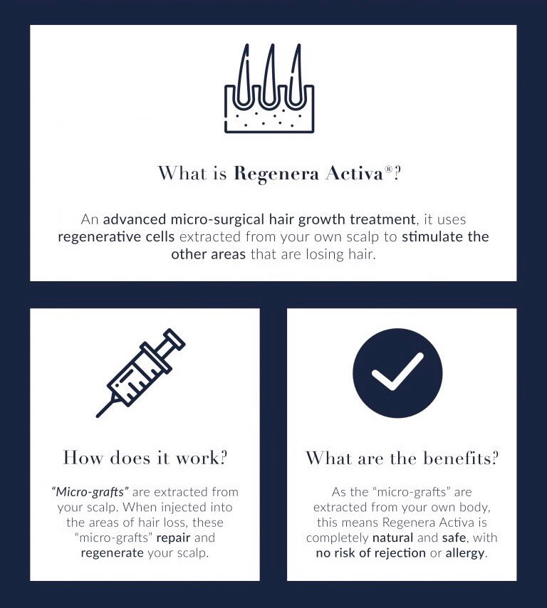 Stem cell hair loss treatment Birmingham
