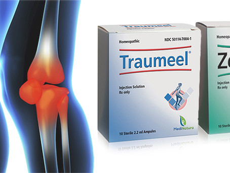 Why have Traumeel injections for pain relief?