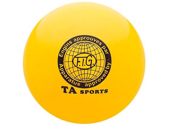 Мяч для худ. гимнастики FIG, d.19, yellow