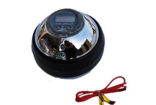 Тренажёр кистевой WRIST BALL металлический с дисплеем 07215