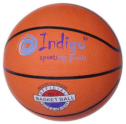 Мяч баскетбольный INDIGO р.5