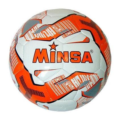 Мяч футбольный Minsa 5-9052