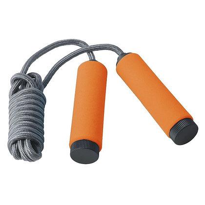 Скакалка AL1003 grey/orange