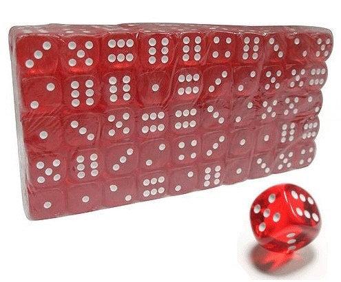 Кубик красный