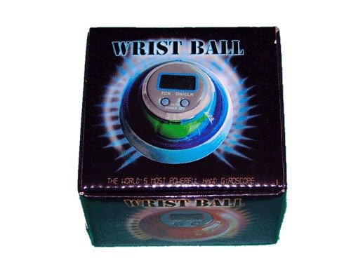 Тренажёр кистевой WRIST BALL с дисплеем 07223