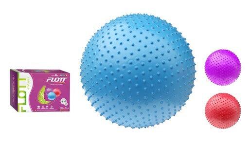 Мяч гимнастический массажный FLOTT 65 см. 1381