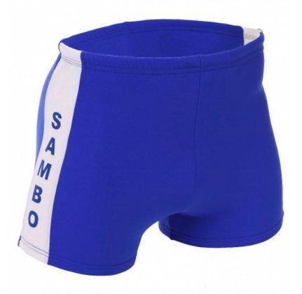 Шорты самбо 7333 синие