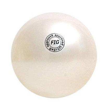 Мяч для худ. гимнастики FIG, d.19, white