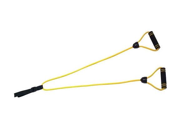 Эспандер INDIGO лыжника-пловца с неопреоновыми ручками
