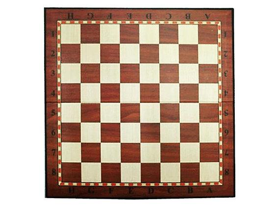 Доска картонная для игры в шахматы, шашки. Размер 33*33 см.