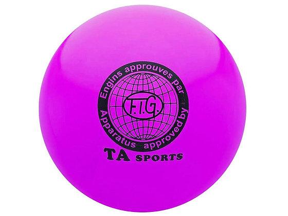 Мяч для худ. гимнастики FIG, d.15 см, violet