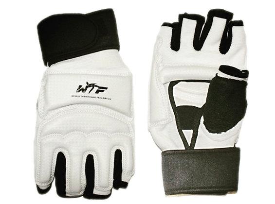 Перчатки для тхеквондо с напульсником на липучке 27020