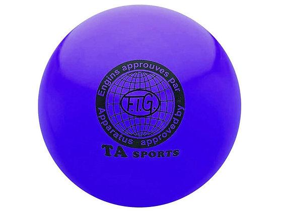 Мяч для худ. гимнастики FIG, d.15 см, blue