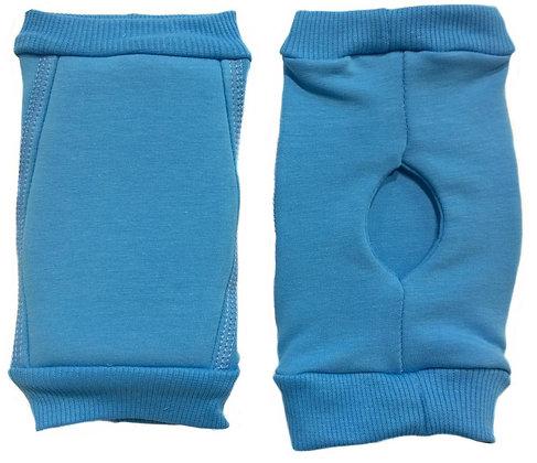 Наколенники голубые для гимнастики и танцев INDIGO turquoise