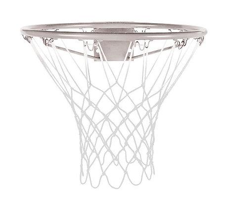 Сетка баскетбольная белая