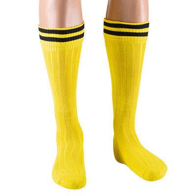 Гетры Ditang желтые с чёрными полосами