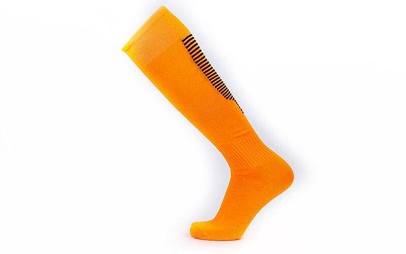 Гетры Lingtu оранжевые с чёрными полосами