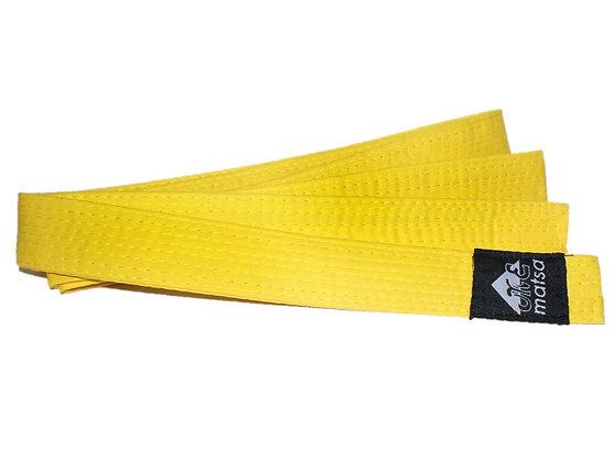 Пояс Matsa х/б жёлтый