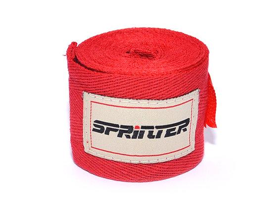 Бинт бокс. SPRINTER 3 м. 31315 красный