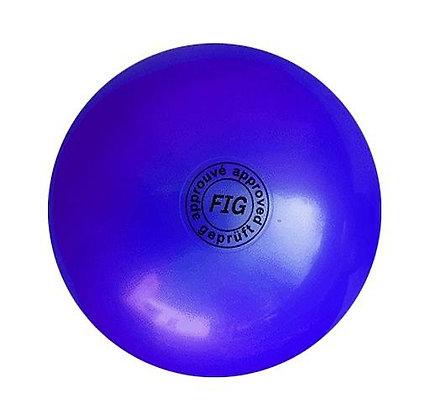 Мяч для худ. гимнастики FIG, d.19, blue